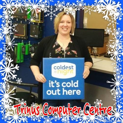 "Team TRINUS at ""Coldest Night of the Year"" Walk-a-thon – Saturday February 24, 2018"