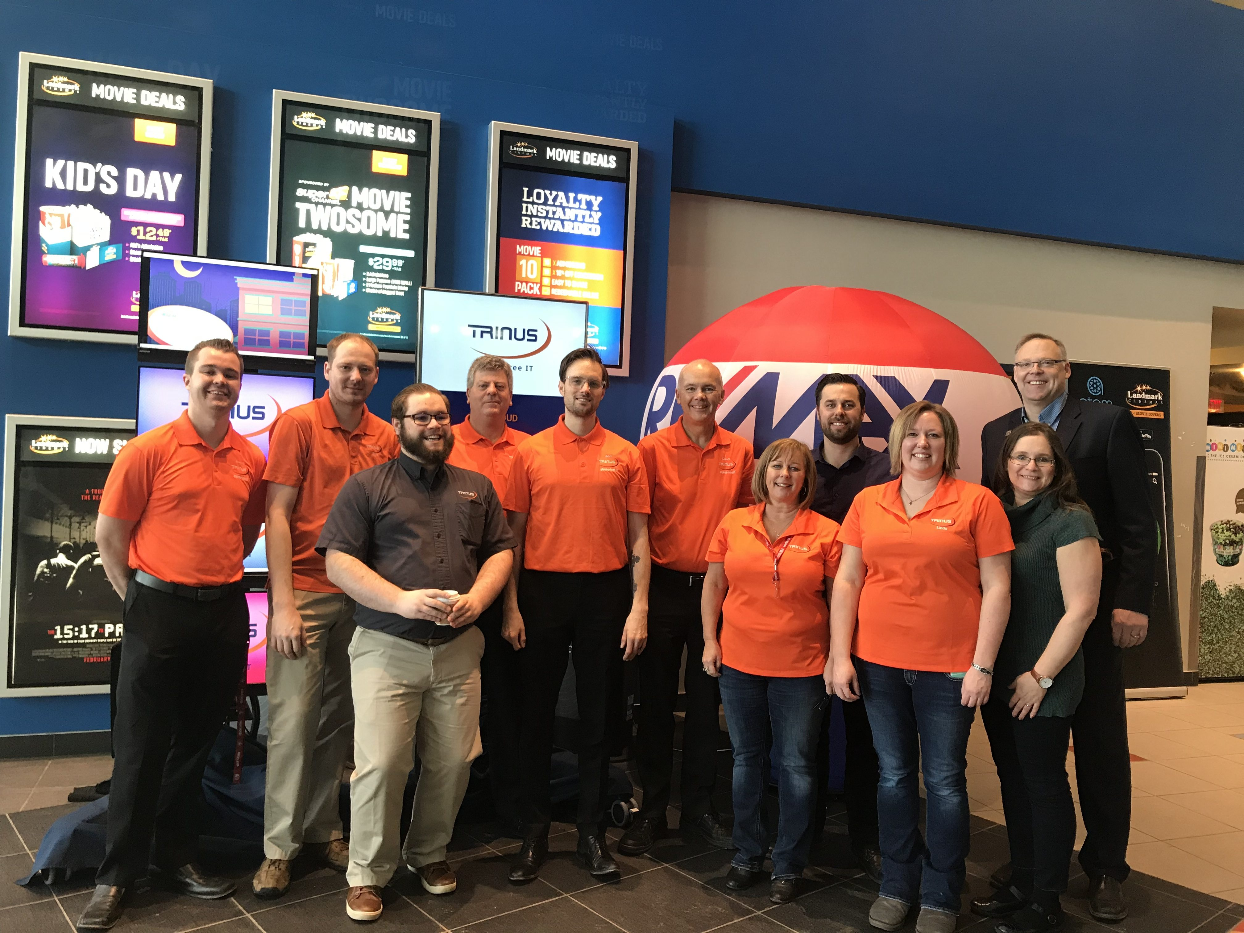 Client Appreciation & Family Day at Landmark Cinema, Spruce Grove – Co-hosted by TRINUS / Ben & Lawrence (REMAX)