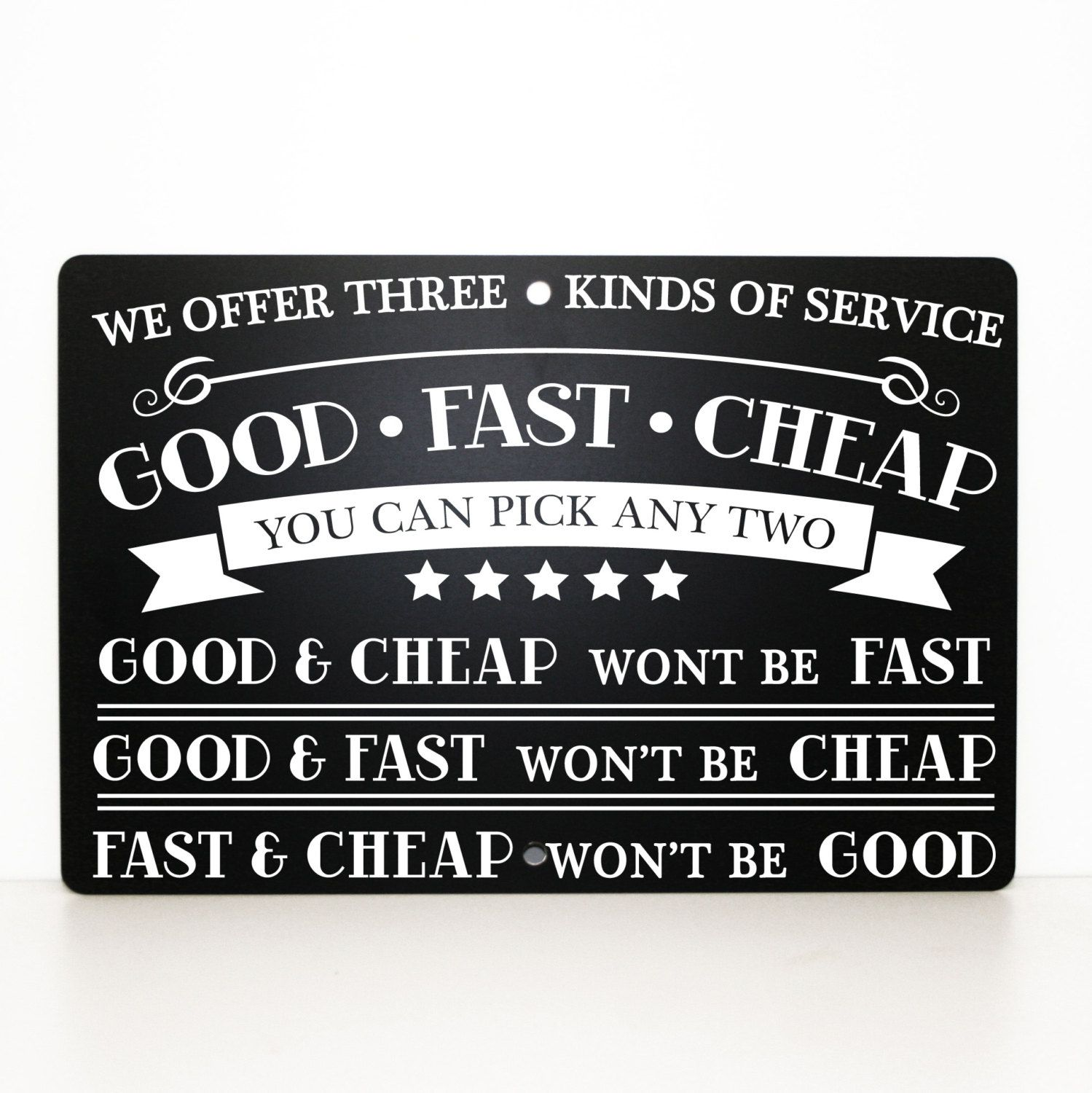 GOOD, FAST, CHEAP: Pick Any Two – A Simple Business Axiom Can Lead to Better IT Systems