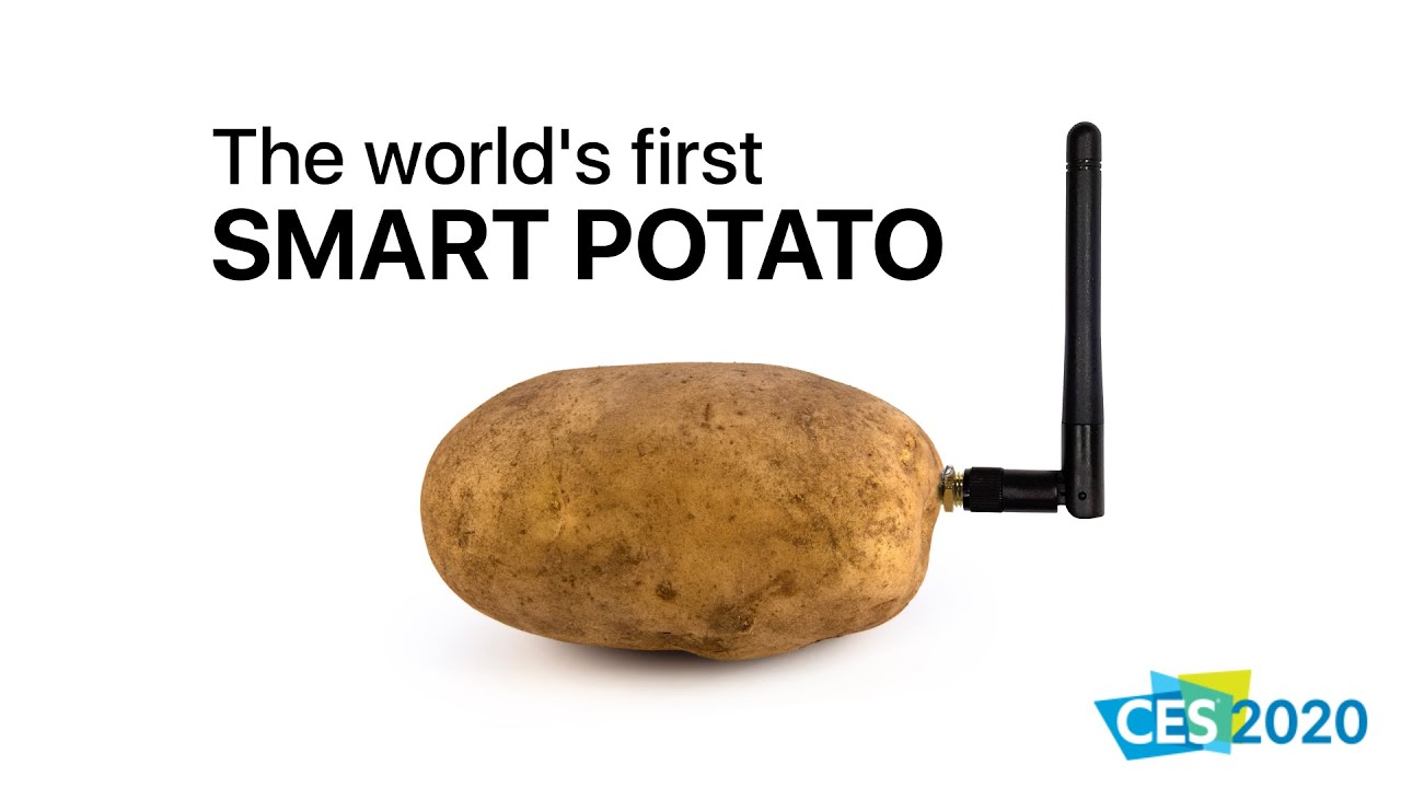 Concerning SMART Potatoes… A First Look at the Las Vegas Consumer Electronics' Show