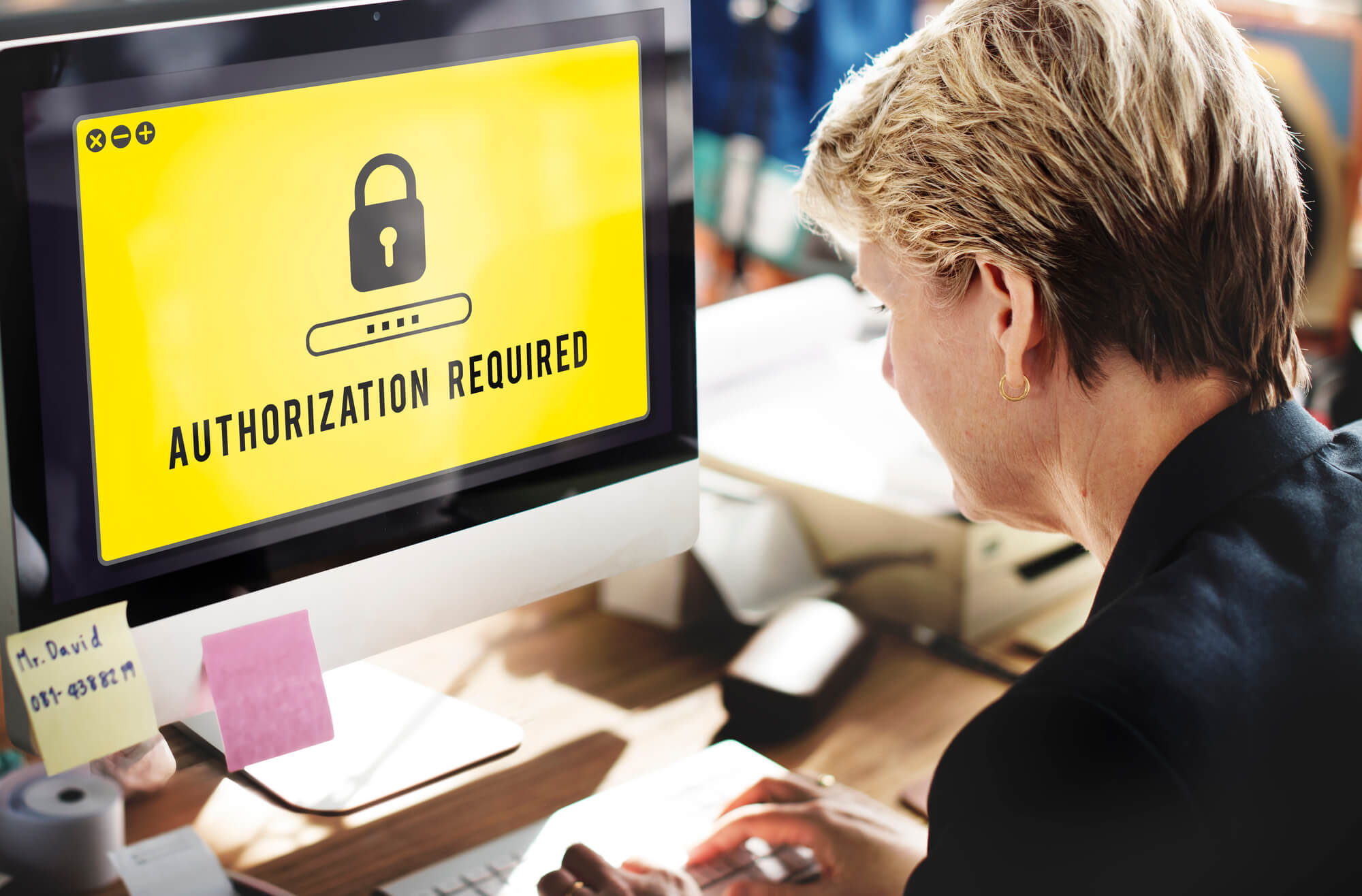 Man not understanding difference between authentication and authorization